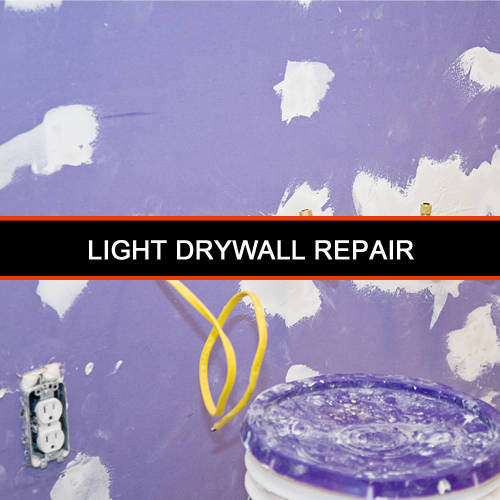 1-Drywall repair