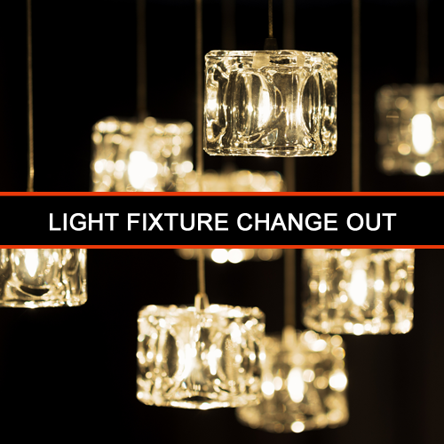 2-Light Fixture Change Out